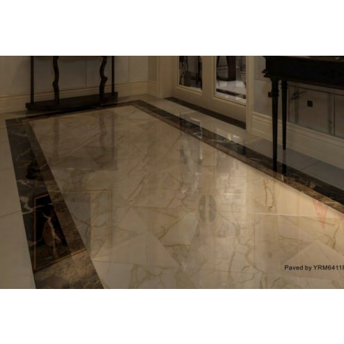 ITM - Tile 24x24 Yrm6411p Brecha Beige High Gloss