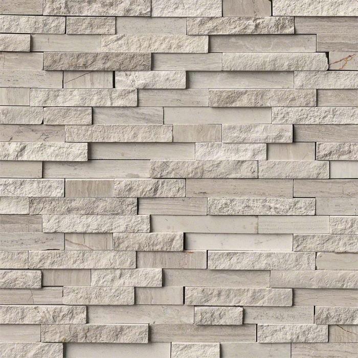 M S International Natural Stone Marble White Quarry