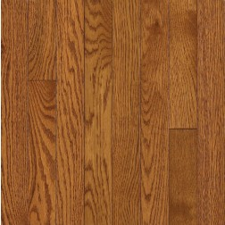 """Armstrong Somerse Solid Strip Oak Spice Brown Solid Traditional Finish 3 1/4"""""""