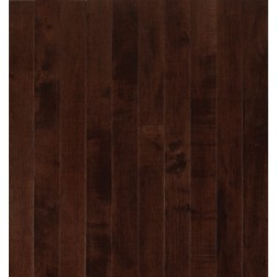 """Armstrong Sugar Creek Solid Strip Maple Cocoa Brown Solid Traditional Finish 3 1/4"""""""