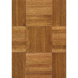 """Armstrong Urethane Parquet Oak Honey Solid Traditional Finish 12"""""""