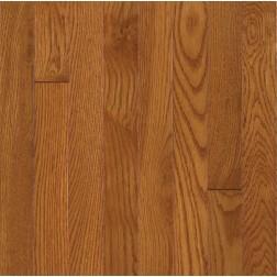 "Bruce Waltham Plank White Oak Brass Solid Traditional Finish 3 1/4"""