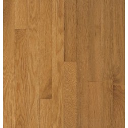 "Bruce Waltham Plank White Oak Cornsilk Solid Traditional Finish 3 1/4"""