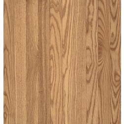 """Bruce Waltham Plank White Oak Country Natural Solid Traditional Finish 3 1/4"""""""