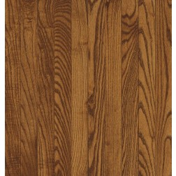 """Bruce Waltham Strip WHite Oak Fawn Solid Traditional Finish 2 1/4"""""""