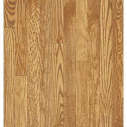 "Bruce Waltham Strip WHite Oak Seashell Solid Traditional Finish 2 1/4"""