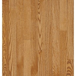 """Bruce Waltham Strip WHite Oak Spice Solid Traditional Finish 2 1/4"""""""