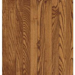 "Bruce Westchester Plank WHite Oak Gunstock Solid Traditional Finish 3 1/4"""