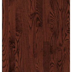 """Armstrong Yorkshire Plank Oak Cherry Spice Solid Traditional Finish 2 1/4"""""""