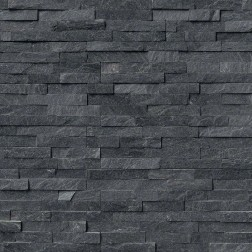 M S International - Natural Stone Ledgers Coal Canyon Panel Split Face 6 X 24 Ledgers