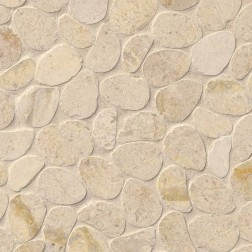 M S International - Natural Stone Pebles Coastal Sand Pebble Honed Honed Misc. Pebles