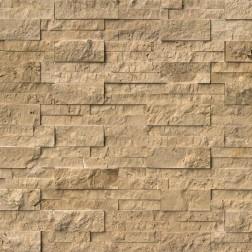 M S International - Natural Stone Ledgers Cordoba Noche Panel Split Face 6 X 24 Ledgers