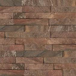 "M S International - Natural Stone Ledgers Copper ""L"" Corner Gauged 6 X 18 Ledgers"