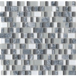 Emser Decoratives Unique Epic Random Mosaic On 12x12