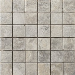 Emser NATURAL STONE Trav Ancient Tumbled Silver 2x2 12x12