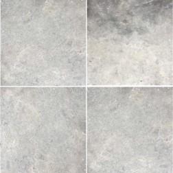 Emser NATURAL STONE Trav Chiseled Silver Banded Set