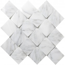 Emser NATURAL STONE Winter Frost Cushion Mosaic On 13x13
