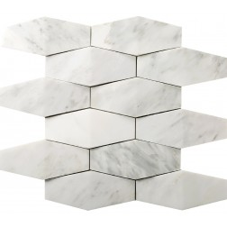Emser NATURAL STONE Winter Frost Prism Mosaic On 12x12
