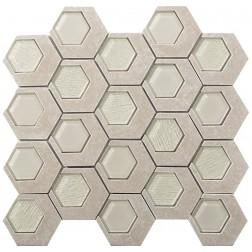 Emser STONE Catalyst Jasper Mosaic 13x14