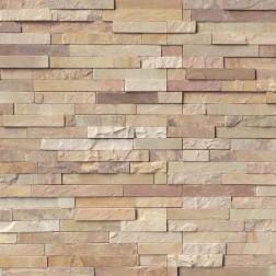 M S International - Natural Stone Ledgers Fossil Rustic Panel Split Face 6 X 24 Ledgers