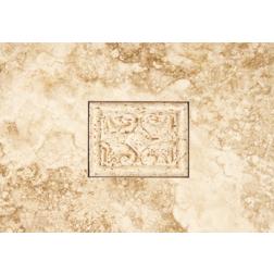 General Ceramic Tile - Petra Noce Andrea Insert 8x12
