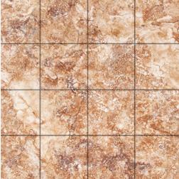 General Ceramic Tile - Petra Rojo 1.7/8x1.7/8 Mosaic Sheet  11 5/8x11 5/8