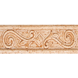 General Ceramic Tile - Petra Rojo Andrea Listello 2.75x8