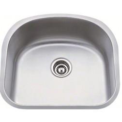 M S International - Sinks Single Bowl Undermount Sink - Mid - 18 Gauge Misc. Sinks