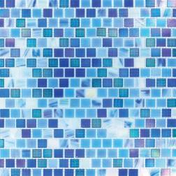 M S International - Mosaics Opaque Blue Rainbow Misc. Mosaics