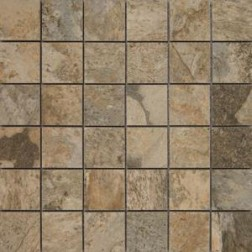 Porcemall Kronenhahn - Arctic Mosaics Square Artic White Look Polished & Matte Mixed (2X2) 12x12