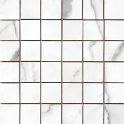 Porcemall Kronenhahn - Statuario  Square Statuario Polished & Matte Mixed (2X2)  12x12