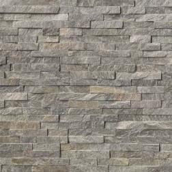 M S International - Natural Stone Ledgers Sage Green Panel Split Face 6 X 24 Ledgers