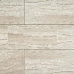 M S International - Tile Sigaro Ivory Matte 12 X 24 Ceramic Stone Looks