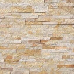 M S International - Natural Stone Ledgers Sparkling Autumn Panel Split Face 6 X 24 Ledgers