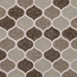 M S International - Mosaics Taza Blend Lantern Pattern Mosaics
