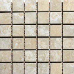 M S International - Tile Toscana Beige Matte 2 X 2 Porcelain Stone Looks