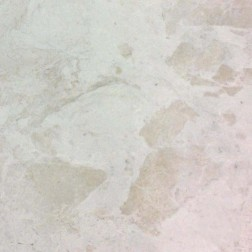M S International - Natural Stone Marble Vanilla White Pol/Bev Polished 18 X 18 Marble