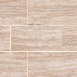 M S International - Tile Pietra Sand Polished 3 X 18