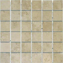 M S International - Tile Venice Cappuccino Matte 2 X 2 Porcelain Stone Looks
