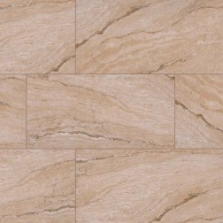 M S International - Tile Pietra Beige Polished 12 X 24