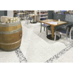 ITM - Tile 3x12 Retro Bianco Bullnose