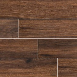M S International - Tile Palmetto Walnut Matte 6 X 36 Porcelain Wood Looks
