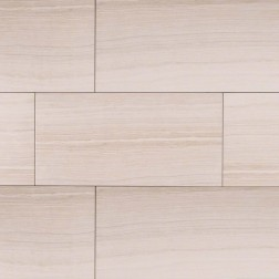 M S International - Tile Eramosa White Matte 3 X 18 Porcelain Stone Looks