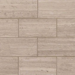 M S International - Natural Stone Marble White Oak Honed 3 X 6 Marble