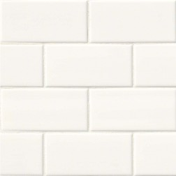M S International - Tile Subway White Glossy 4 X 16 Ceramic Subway