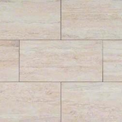 M S International - Tile Veneto White Matte 3 X 24 Porcelain Stone Looks